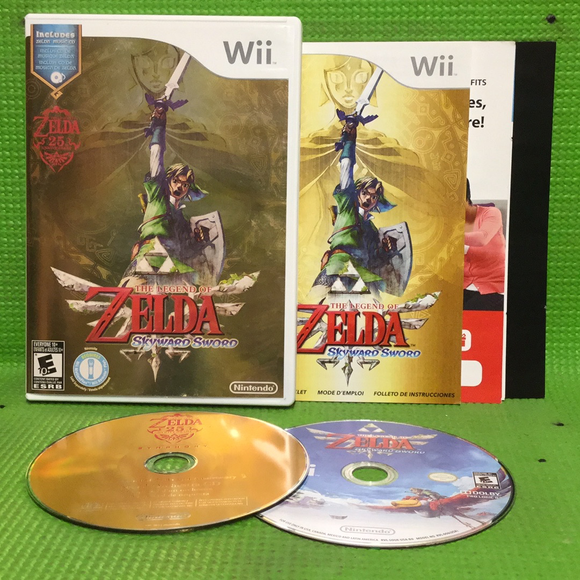 Legend of Zelda: Skyward Sword - Nintendo Wii | Disc Plus