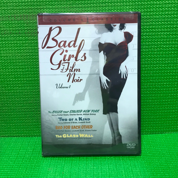 Bad Girls Of Film Noir, Vol. 1: The Killer That Stalked New York / Two Of A Kind / Bad For Each Other / The Glass Wall - DVD Mystery/Suspense VAR NR | Disc Plus