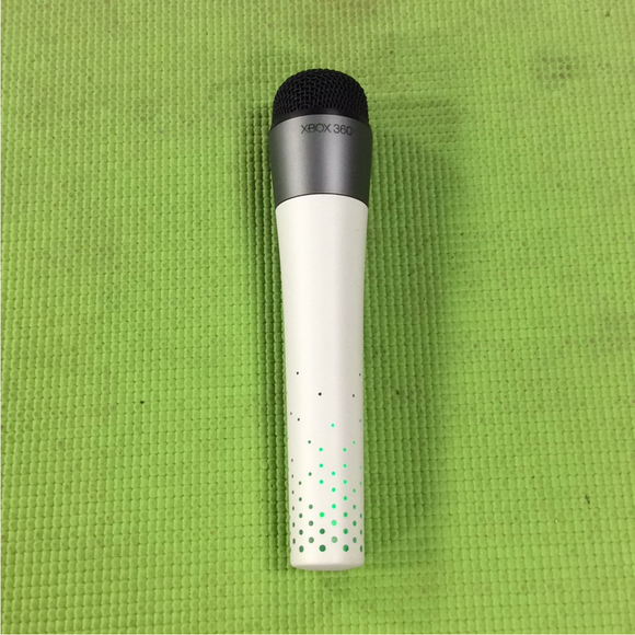 Wireless Official Mic | White Official - Microsoft Xbox 360 | USED