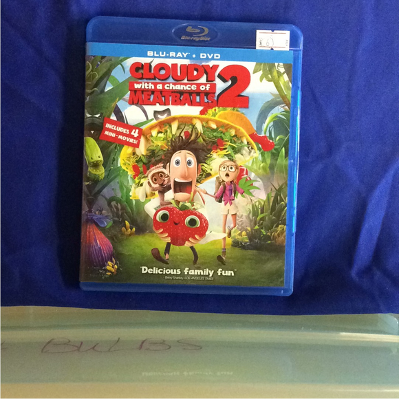Cloudy With A Chance Of Meatballs 2 - Blu-ray Animation 2013 PG | Disc Plus