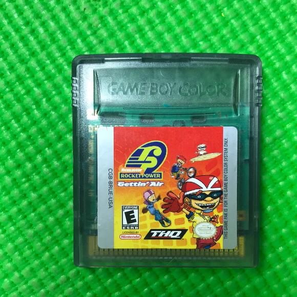 Rocket Power Gettin Air - Nintendo Gameboy Color | Cartridge Only