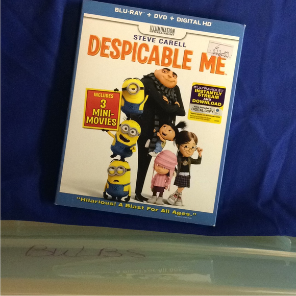 Despicable Me - Blu-ray Animation 2010 PG | Disc Plus