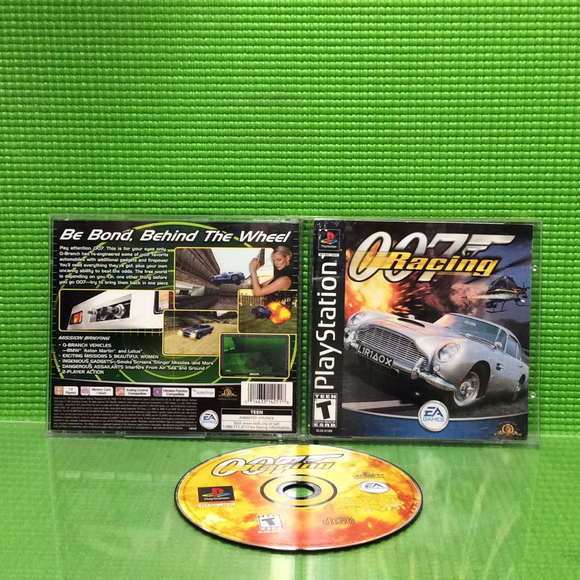 007 Racing - Sony PS1 Playstation 1 | Disc Plus