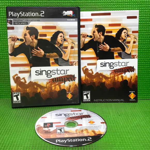 Singstar Amped - Sony PS2 Playstation 2 | Disc Plus