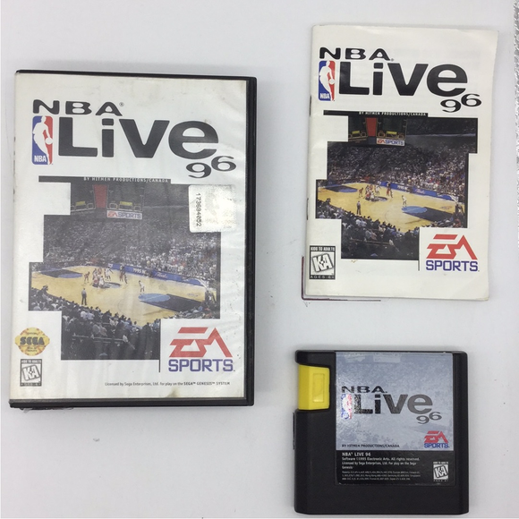 NBA Live 96 - Sega Genesis | Boxed or CIB