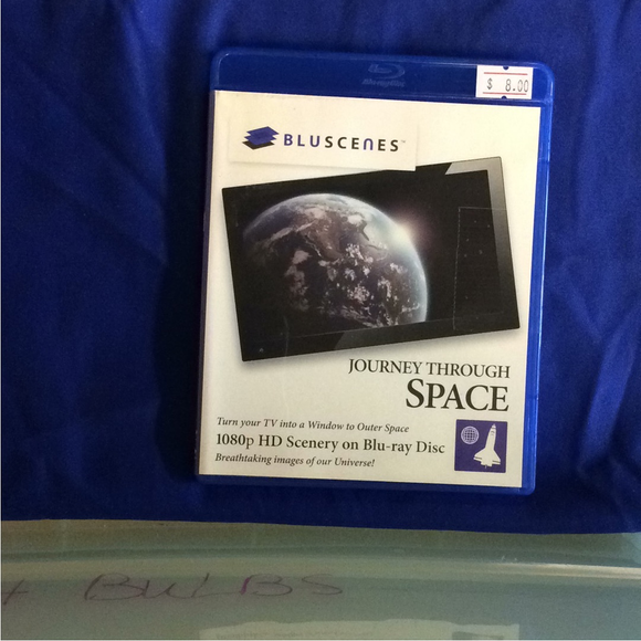 BluScenes: Journey Through Space - Blu-ray Special Interest 2009 NR | Disc Plus