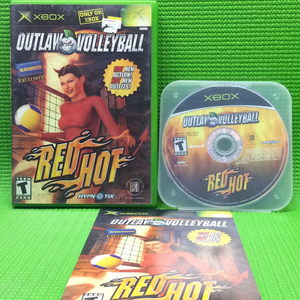 Outlaw Volleyball Red Hot - Microsoft Xbox | Disc Plus