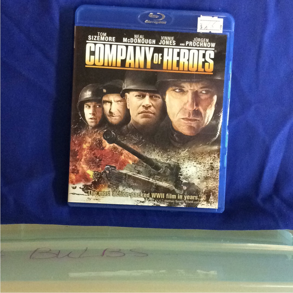 Company Of Heroes - Blu-ray War 2013 R | Disc Plus