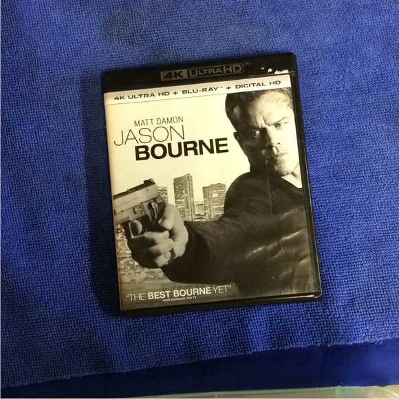 Jason Bourne - Blu-ray Action/4K Ultra/Adventure 2016 PG-13 | Disc Plus