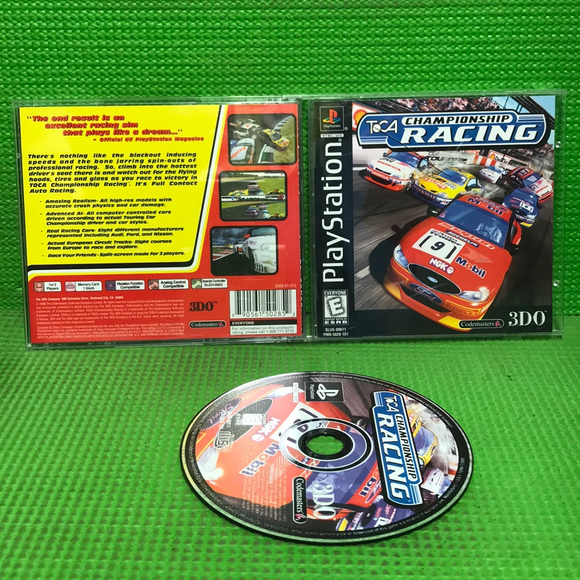 TOCA Championship Racing - Sony PS1 Playstation 1 | Disc Plus