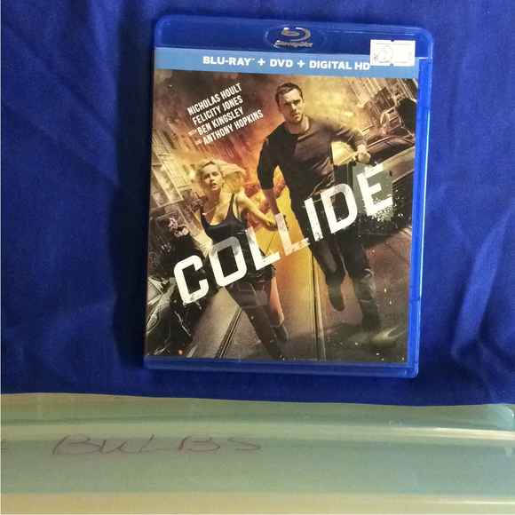 Collide - Blu-ray Action/Adventure 2016 PG-13 | Disc Plus