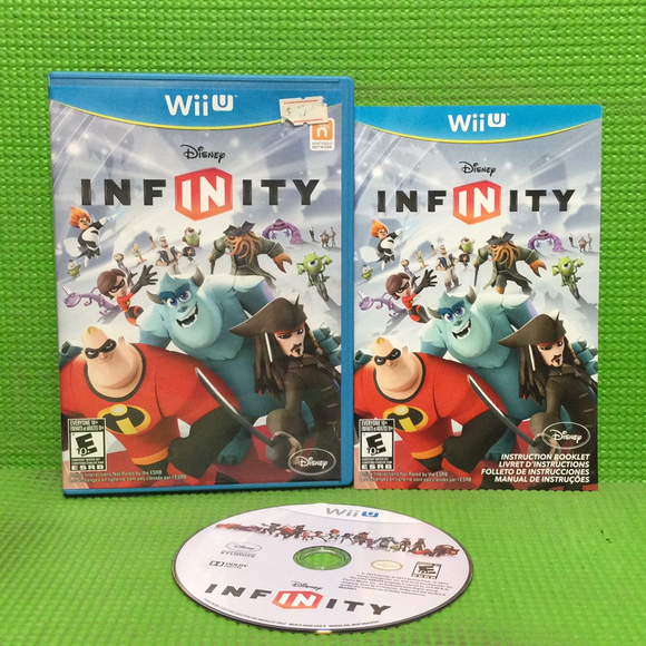 Disney Infinity (Game Only) - Nintendo Wii U | Disc Plus