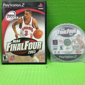 NCAA Final Four 2003 - Sony PS2 Playstation 2 | Disc Plus