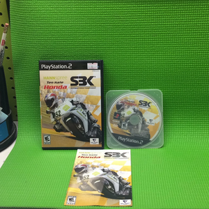 Honda SBK 07 Superbike - Sony PS2 Playstation 2 | Disc Plus