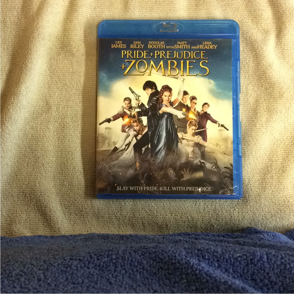 Pride And Prejudice And Zombies - Blu-ray Action/Adventure 2016 PG-13 | Disc Plus