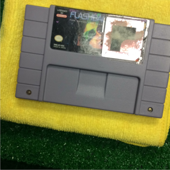 Flashback: The Quest for Identity - Nintendo SNES Super | Cartridge Only
