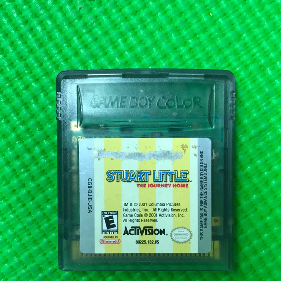 Stuart Little The Journey Home - Nintendo Gameboy Color | Cartridge Only