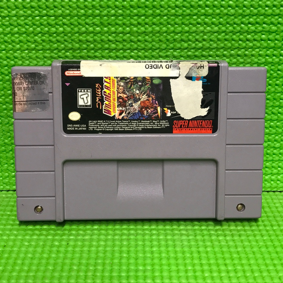 Wild C.A.T.S, Jim Lee's: Covert Action Teams - Nintendo SNES Super | Cartridge Only