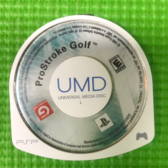 ProStroke Golf World Tour 2007 - Sony PSP | Disc Only