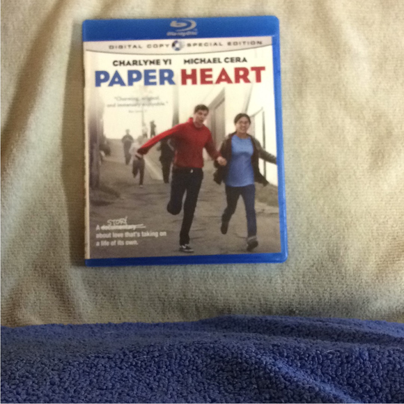 Paper Heart - Blu-ray Comedy 2009 PG-13 | Disc Plus