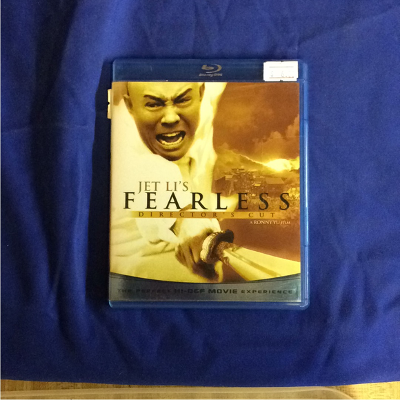Jet Li's Fearless - Blu-ray Action/Adventure 2006 UR | Disc Plus