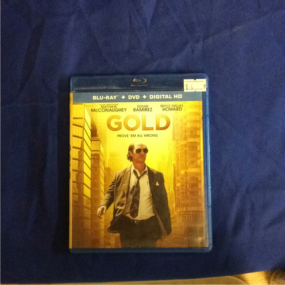 Gold - Blu-ray Action/Adventure 2016 R | Disc Plus