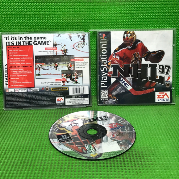 NHL 97 - Sony PS1 Playstation 1 | Disc Plus