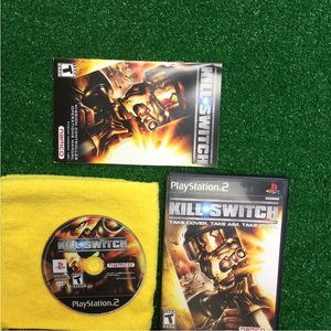 Kill Switch - Sony PS2 Playstation 2 | Disc Plus