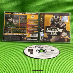 NFL Gameday 2001 - Sony PS1 Playstation 1 | Disc Plus