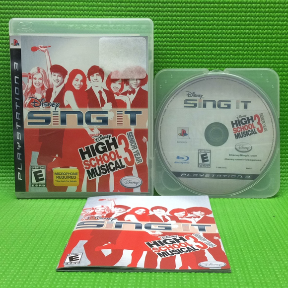 Sing It: High School Musical 3: Senior Year - Sony PS3 Playstation 3 | Disc Plus