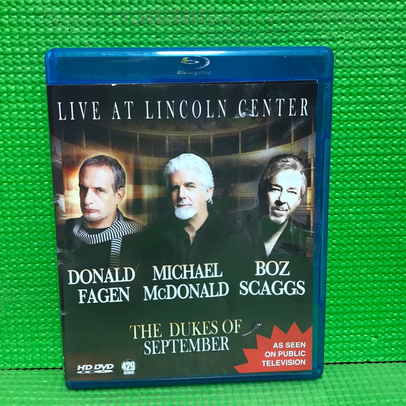 Dukes Of September: Live At Lincoln Center - Blu-ray Music UNK NR | Disc Plus