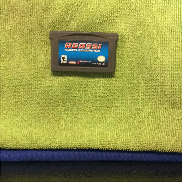 Agassi Tennis Generation - Nintendo GBA Gameboy Advance | Cartridge Only