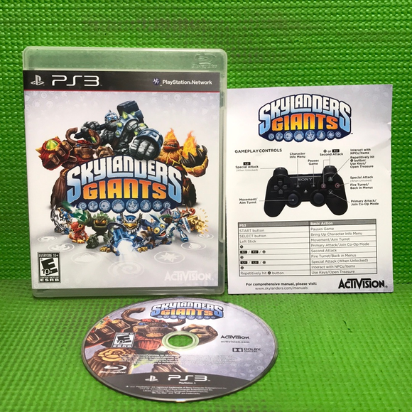 Skylanders: Giants (Game Only) - Sony PS3 Playstation 3 | Disc Plus