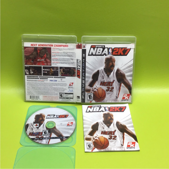 NBA 2K7 - Sony PS3 Playstation 3 | Disc Plus