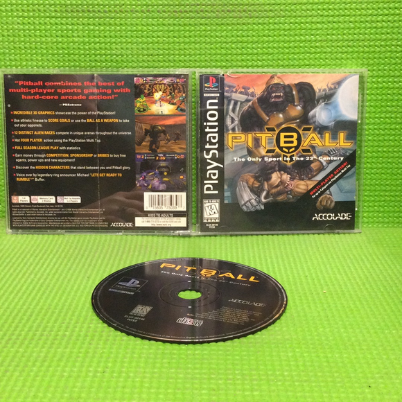 Pitball - Sony PS1 Playstation 1 | Disc Plus