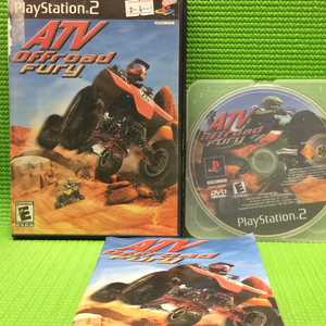 ATV Offroad Fury - Sony PS2 Playstation 2 | Disc Plus