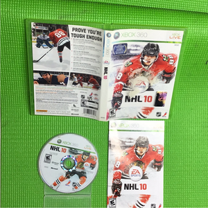 NHL 10 - Microsoft Xbox 360 | Disc Plus