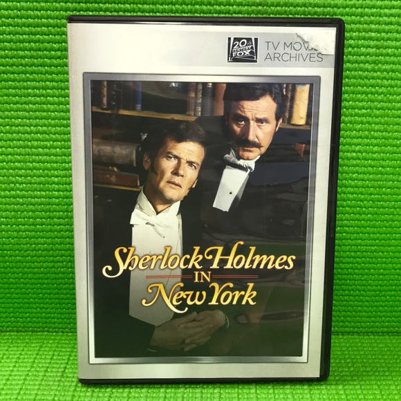 Sherlock Holmes In New York - DVD Mystery/Suspense 1976 NR | Disc Plus