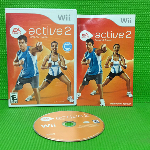 EA Sports Active 2.0 (Game Only) - Nintendo Wii | Disc Plus