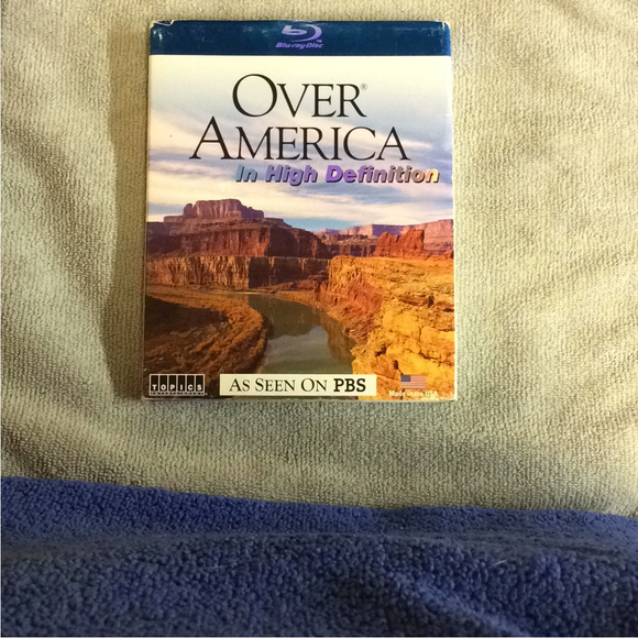 Travel Adventure Nature: Over America - Blu-ray Special Interest UNK NR | Disc Plus