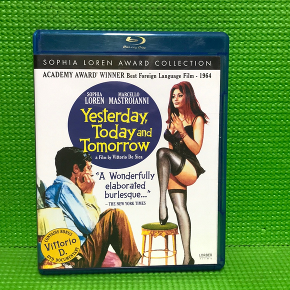 Yesterday, Today And Tomorrow - Blu-ray Foreign 1963 NR | Disc Plus