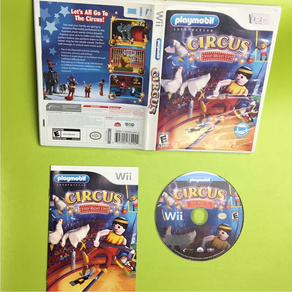 Playmobil Interactive Circus: Step Right Up - Nintendo Wii | Disc Plus