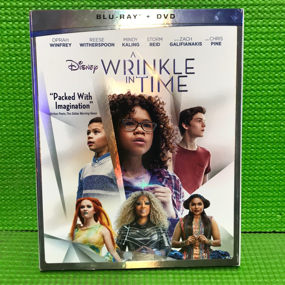 Wrinkle In Time - Blu-ray Fantasy 2018 PG | Disc Plus