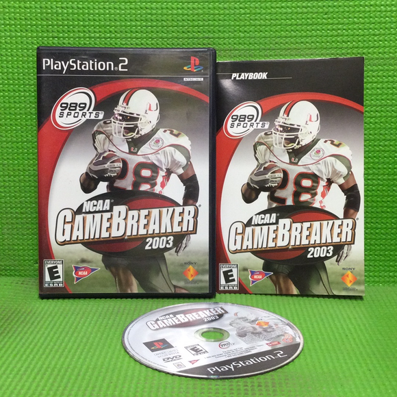 NCAA Gamebreaker 2003 - Sony PS2 Playstation 2 | Disc Plus