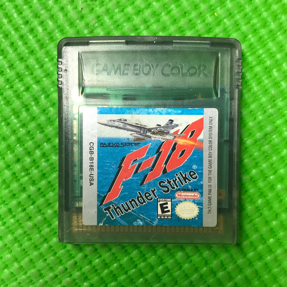 F-18 Thunder Strike - Nintendo Gameboy Color | Cartridge Only