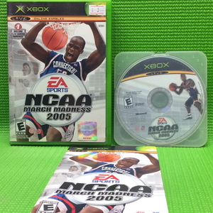 NCAA March Madness 2005 - Microsoft Xbox | Disc Plus