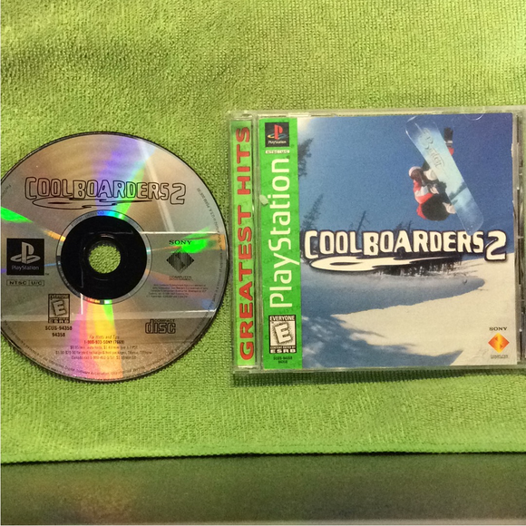 Cool Boarders 2 - Sony PS1 Playstation 1 | Disc Plus