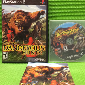 Cabela's Dangerous Hunts - Sony PS2 Playstation 2 | Disc Plus