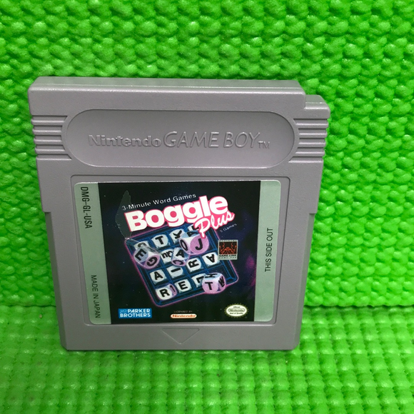 Boggle Plus - Nintendo Gameboy | Cartridge Only