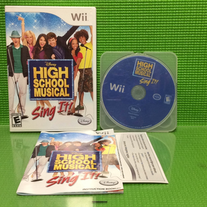 Sing It: High School Musical - Nintendo Wii | Disc Plus